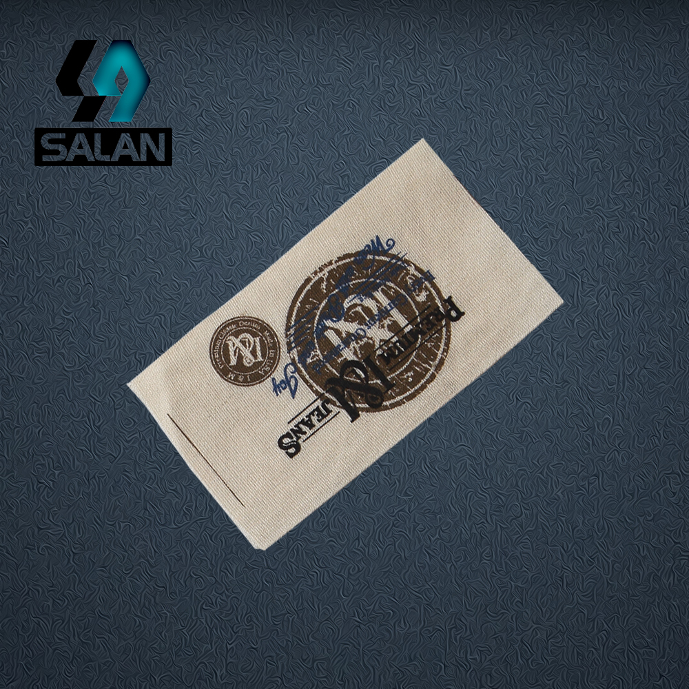 custom clothing labels printed cotton label trademark