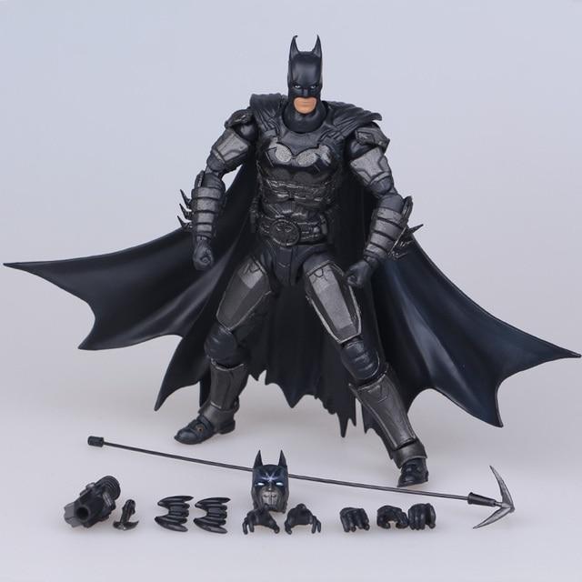 Hot ! NEW 17cm Justice league batman mobile action figure toys Christmas doll toy bfx56