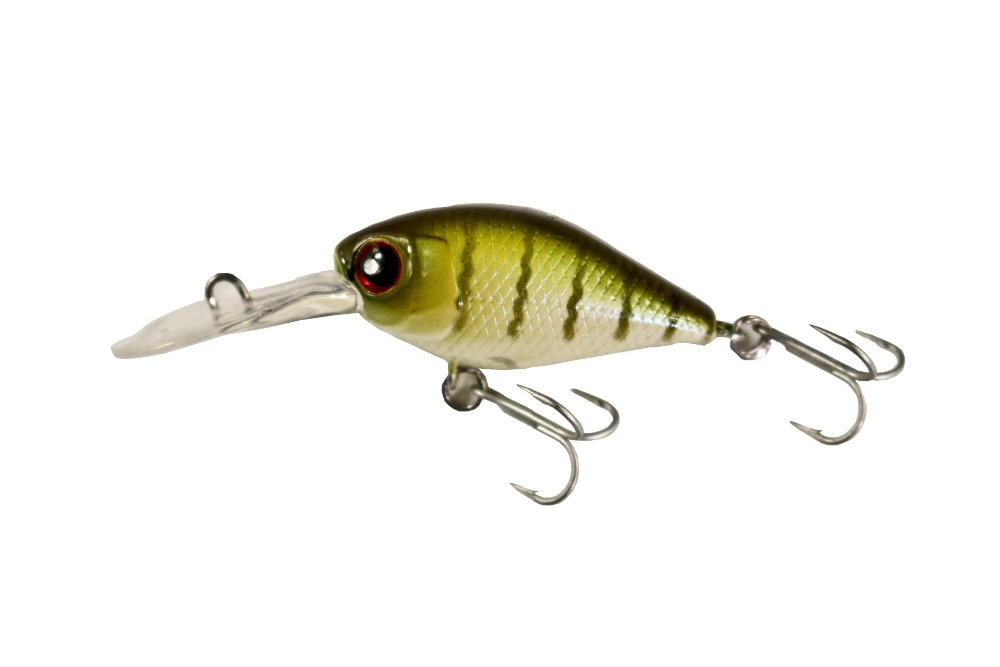 BassLegend- Fishing Wobbler Floating Crankbait Diving Chubby Bass Pike Lure 38mm/4.5g title=