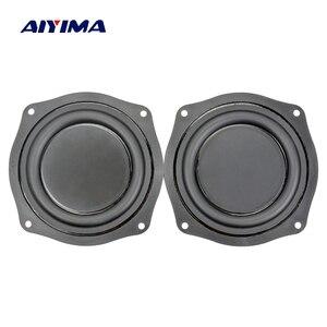 Image 2 - AIYIMA 4Inch Bass Radiator Speaker Vibration Diaphragm Passive Radiator Loudspeaker Passive Woofer Diaphragm Plate Subwoofer DIY