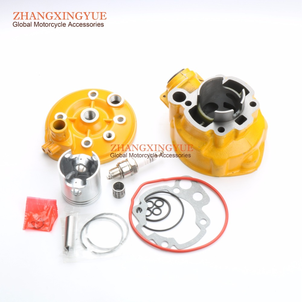 70cc cylinder kit & Cylinder head cover for Peugeot 50 xp6 xr6 AM6 47mm/12mm сумка термос thermos e5 24 can cooler 555618 19л лайм