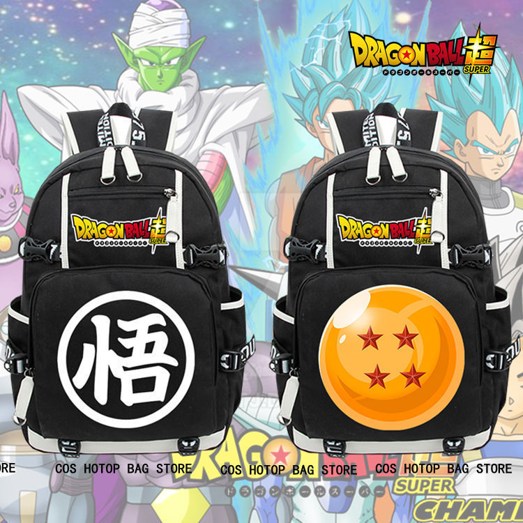 Anime DRAGON BALL Backpack Men New Knapsack Otaku Packsack School Student Bags anime death note backpack knapsack packsack travel study school bags otaku shoulders bag package