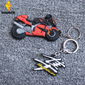 2015 new products Motorcycle Racing Key rings for Suzuki Hayabusa Keychain soft Rubber motocross llaveros Rings gift
