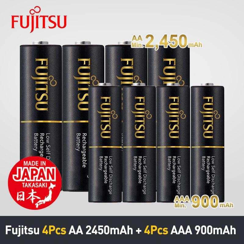 Aliexpress.com : Buy Fujitsu 4Pcs/Pack 2450mAh AA Battery+