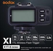 Godox X1T-S Professionnel TTL Multi-canal Déclenchement 2.4 GHz Transmission Sans Fil Déclencheur Flash