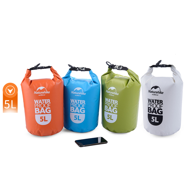Us 9 Naturehike 5l New Small Ultralight Rafting Bag Waterproof Dry Nh15s222 D5l In Water Bags From Sports Entertainment On