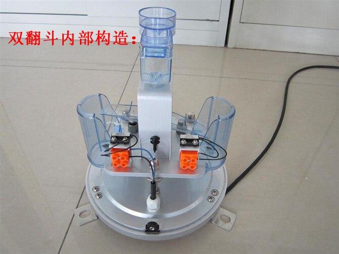 [BELLRain sensor tipping bucket rain gauge double barrel rain barrel rain water hydrology record detection instrument meteorolog