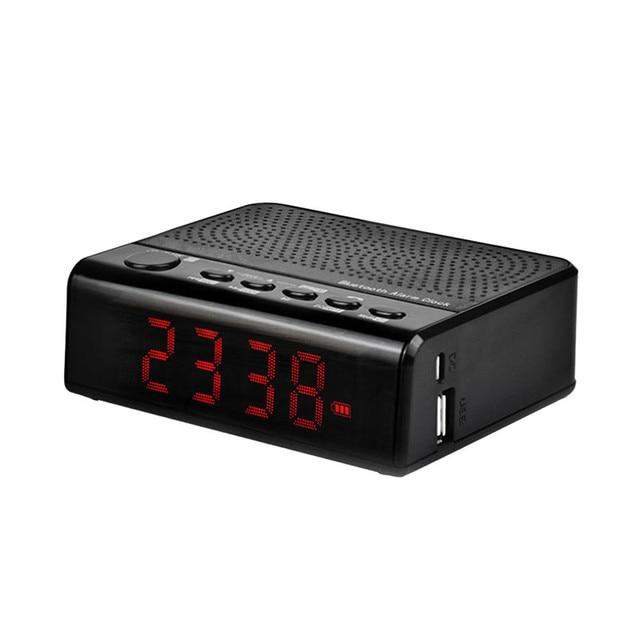 LEADSTAR MX 19 Bluetooth Speaker Portable MP3 Player Alarm Clock FM Radio  Music USB for. LEADSTAR MX 19 Bluetooth Speaker Portable MP3 Player Alarm Clock