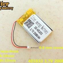 Замена 3,7 V 200mAh литий-полимерный аккумулятор li-ion Батарея для SONY MP3 NW-E002 NW-E003 NW-E005 оригинальную штепсельную 401833
