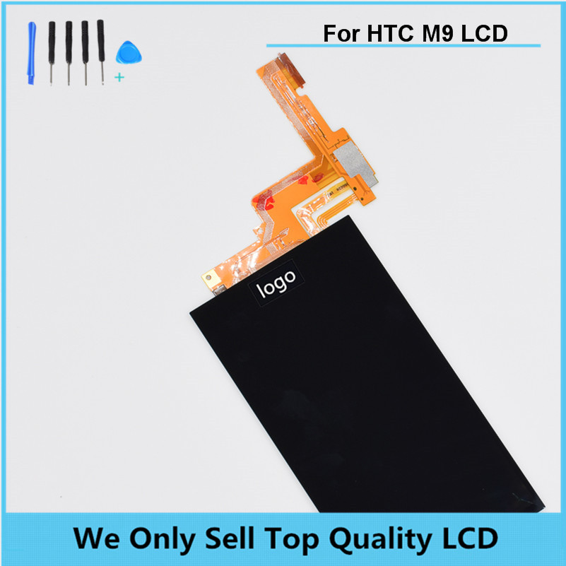 For HTC One M9 LCD Display Screen with Touch Screen Digitizer Assembly Repair Parts Gray Silver Gold Color Free shipping +Tools top quality lcd screen display touch digitizer assembly with frame for htc one m9 phone repair parts white gold black