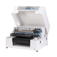 2018 new year A3 t shirt digital printing machine with RIP software for 5760dpi photo print