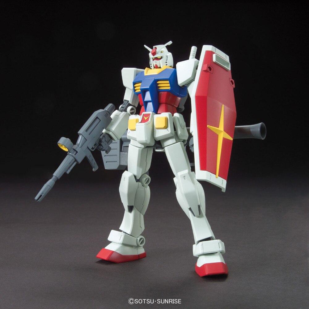 Bandai Gundam HGUC Original 1/144 Japan Movie Anime Action Toy Figures Christmas Gift Plastic Assemble Model Robot HGD 196716