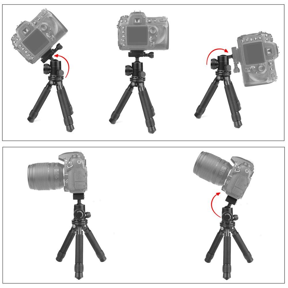 Портативная мини-камера штатив регулируемый стабильный штатив настольного типа для Go Pro Hero 7 6 5 Canon 60D Nikon sony Cam Stand