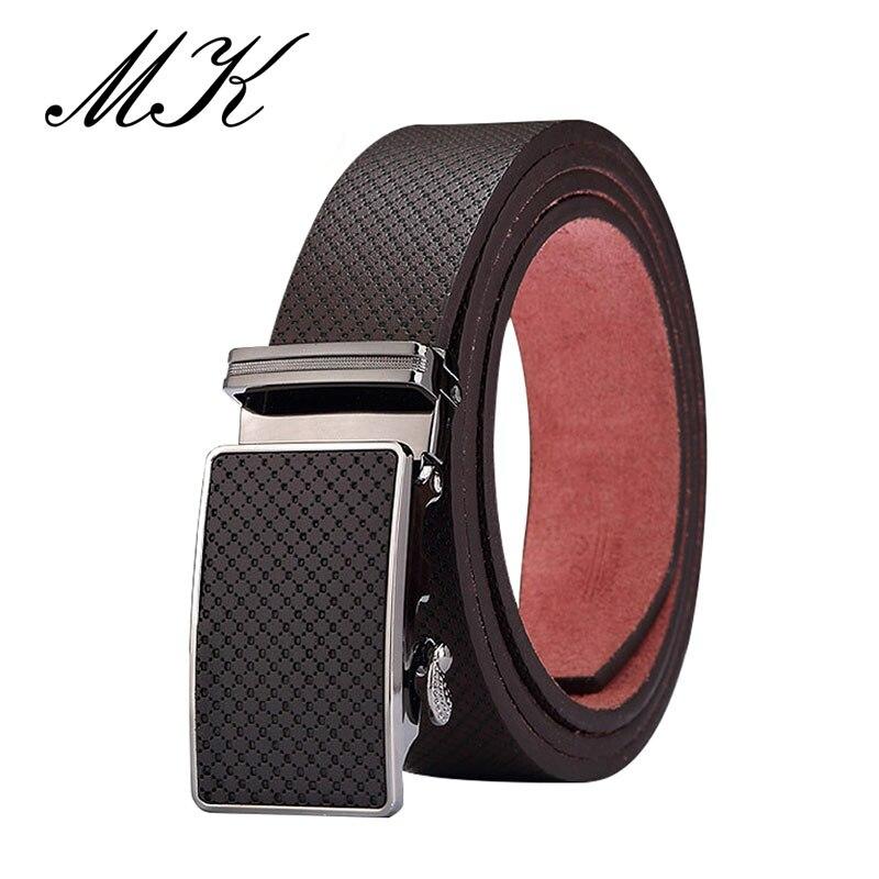 Maikun Men's Belts For Men Belt Vintage Genuine Leather Belt High Quality Automatic Buckle Belt