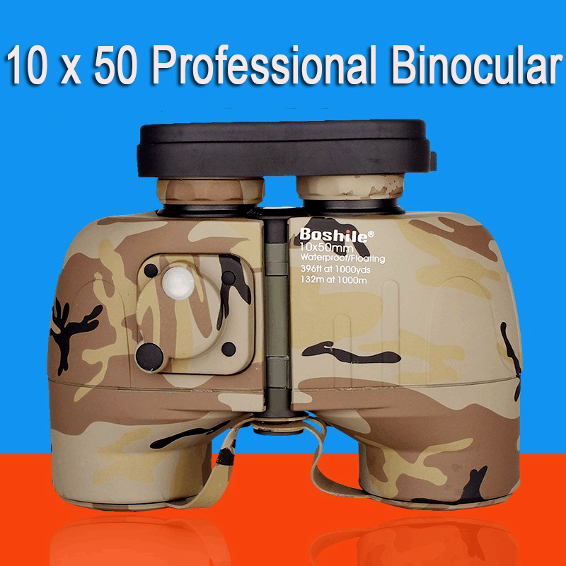 Powerful Binoculars font b Rangefinder b font Telescope 10x50 Long Range Military Binocular Professional Night Vision
