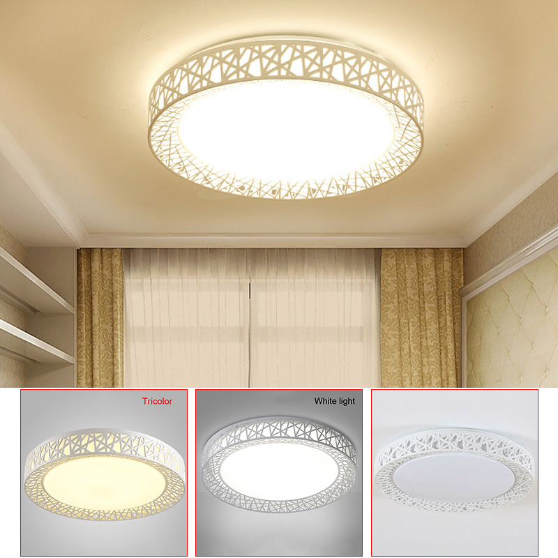 Romantic Birds Nest Modern Led Ceiling Light Living Room Fixture Fixture Bedroom Kitchen Surface Mount Embedded Panel Remote Control Back To Search Resultslights & Lighting Ceiling Lights