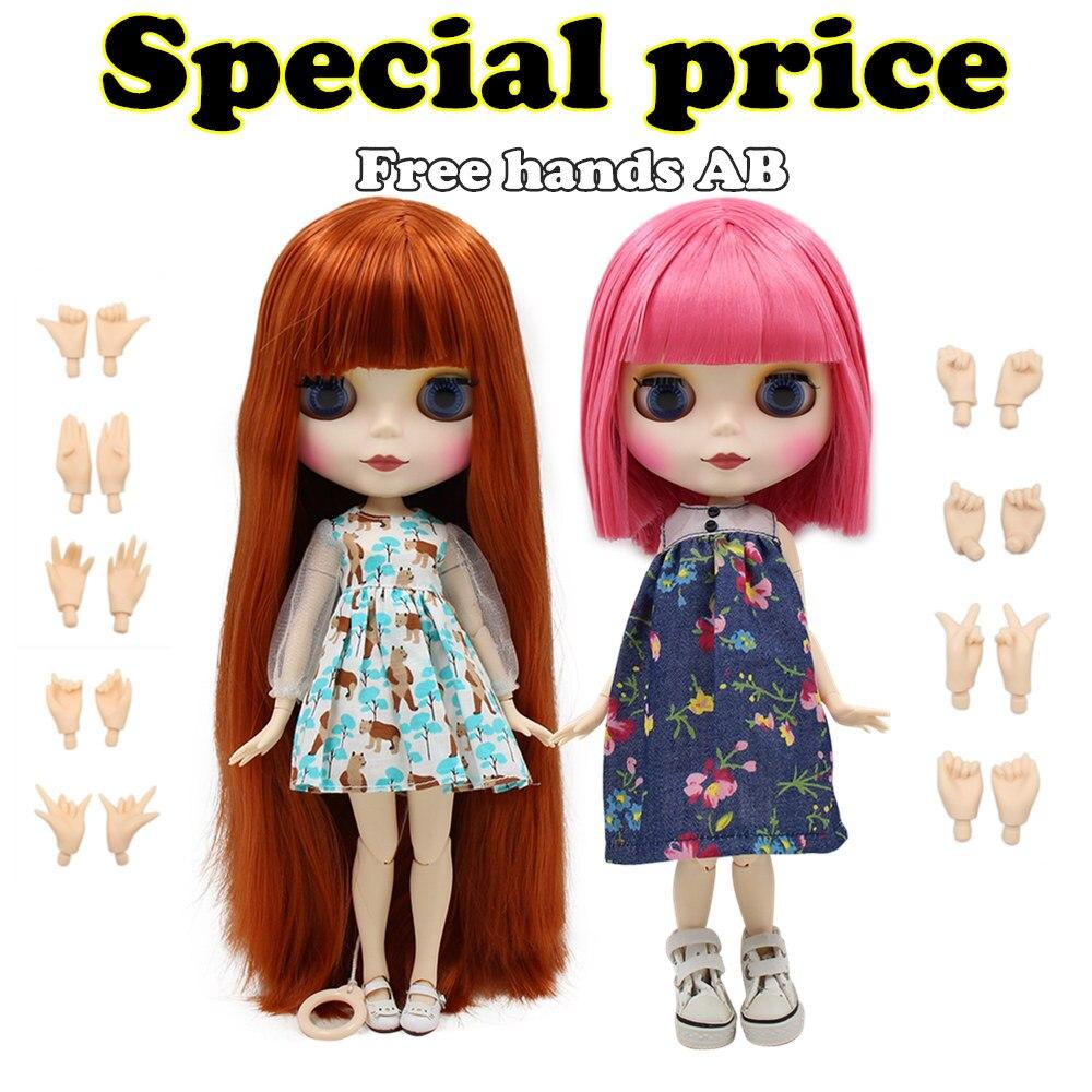 Ледяной фабрики Блит куклы BJD neo Специальное предложение игрушка в подарок специальная цена на продажу