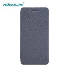 OnePlus 5 Case 5.5 дюймов Nillkin оригинальный блеск Мода откидная крышка кожаный чехол для OnePlus 5 телефон Чехлы