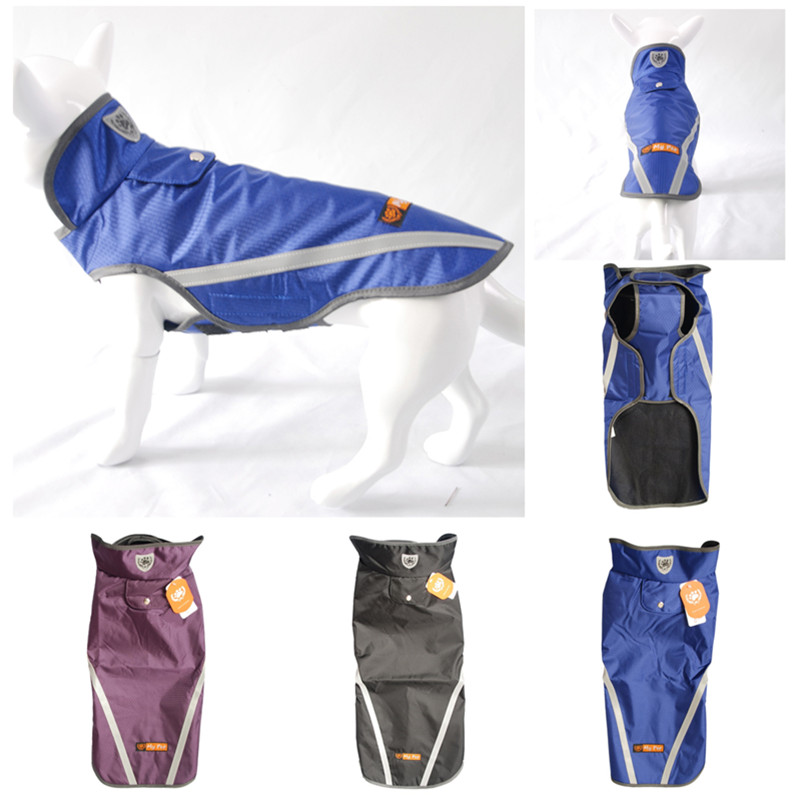 My Dog Brand Clothes High Quality Dog Coats & Jackets Waterproof Pet Raincoats Safety Supplies