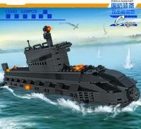 Children S Intelligence Education Building Block Toy Nuclear Submarine Fighter Plane Assembly Model Fun Children Block