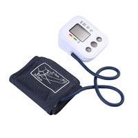 Zoss LCD Digital Automatic Measuring Arm Sphygmomanometer Pulse Oximeter Digital Sphygmomanometer Suitable For The Elderly