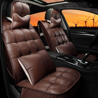 winter car seat cushion for Buick regal k5 sportage hatchards the uluibau steps leaps down thermal seatpad coffee cream color