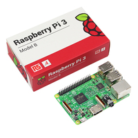 Original Raspberry Pi 3 Model B Board 1GB RAM Quad Core 1 2GHz 64bit CPU With