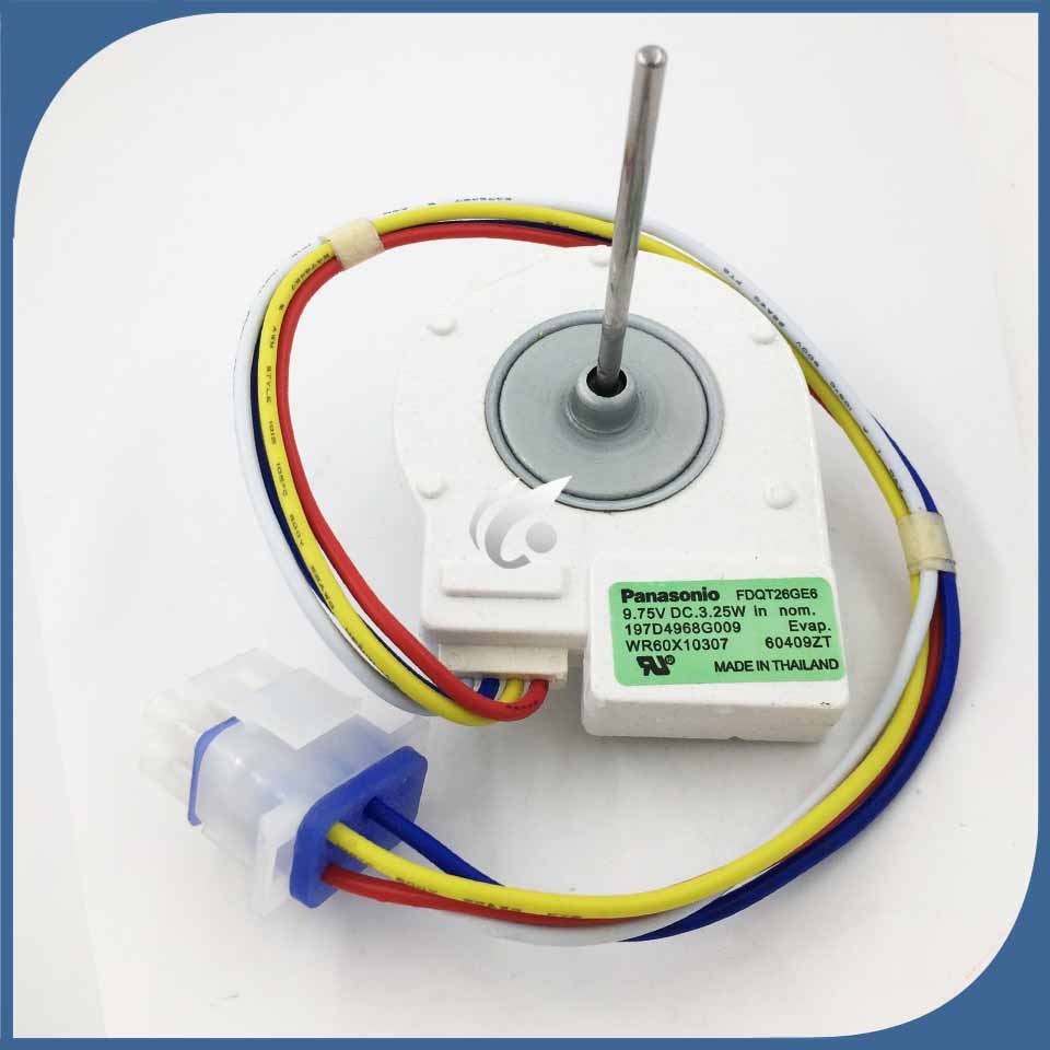 new for refrigerator freezer FDQT26GE6 FDQT26GE8 DC refrigerator Fan motor No sensors