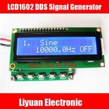 Nova versão do sensor de Sinal DDS LCD1602/função gerador de 0.1 hz ~ 100 khz/variedade de gerador de sinal/medidor de freqüência