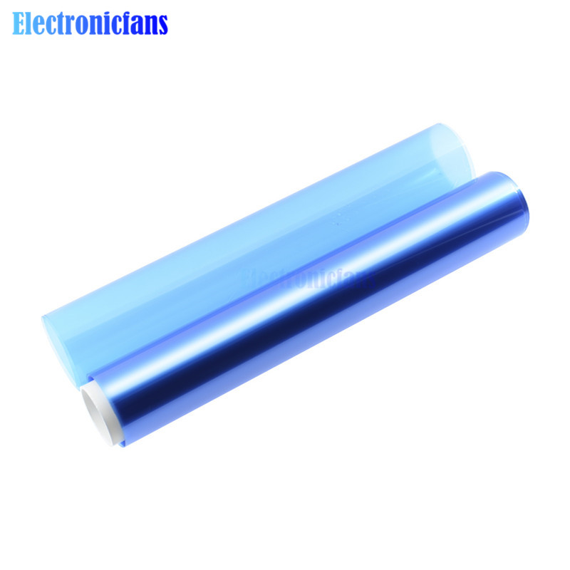 15CMx2M PCB Portable Photosensitive Dry Film For Circuit Photoresist Sheets 1M Brand New For Plating Hole Covering Etching