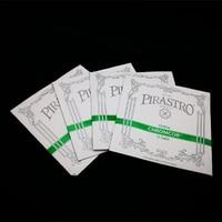 Full Set Pirastro Chromcor 4 4 Violin Strings Set 319020 Steel Core Medium Gauge With Black