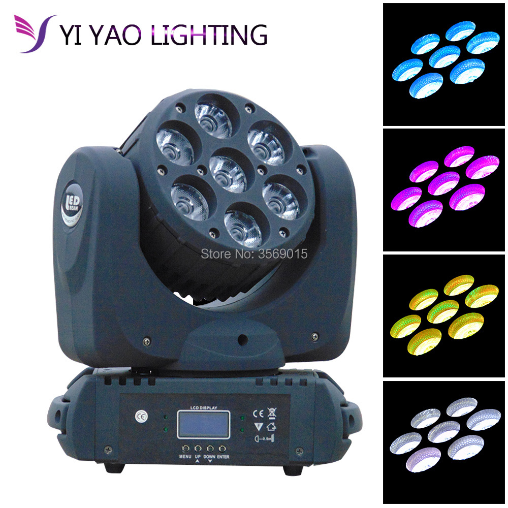 Us 123 69 7 Off Eliminator Lighting Stealth Wash Beam 7x12w Led Moving Head Light In Stage Effect From Lights On Aliexpress