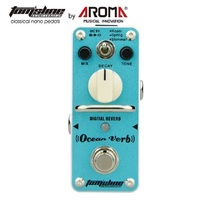 Aroma Guitarra Digital Mini Effect Pedal AOV 3 Ocean Verb Single Effect With True Bypass