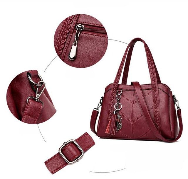 SMOOZA Women Casual Tote Bags 2020 Female Handbag   5