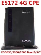 Открыл Huawei E5172 E5172s-515 4 г LTE МИФИ маршрутизатор CPE автомобилей, Wi-Fi Moblie Dongle 4 г CPE МИФИ PK b593 b681 B683 B970b e5172s-22
