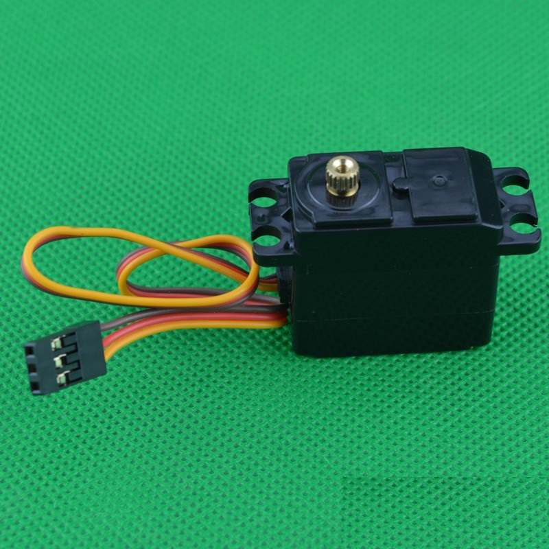 1PCS FY 1:12 Metal Steering Gear High Torque RC Servo Metal Gears 3-Wire Robot Servo for Desert Falcon Four-wheel Drive Car 35kg high torque coreless motor servo rds3135 180 deg metal gear digital servo arduino servo for robotic diy rc car