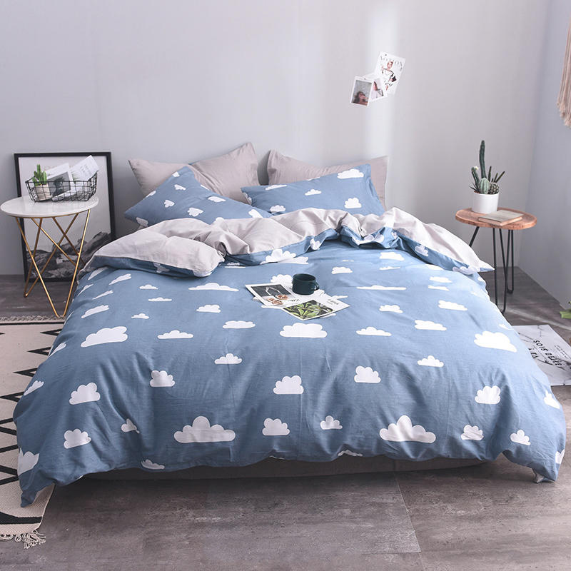 100%Cotton Kids Adult Twin Queen King Size Bedding Sets Bed Set Duvet Cover Bed Sheet Fitted Sheet Ropa De Cama Parure De Lit