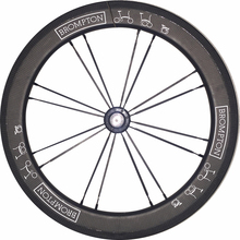 New Carbon Wheels 16 inch 349-38 Hubsmith Outer 2 Gears Front Wheel For  Brompton And Folding Bike Clincher Wheels