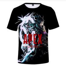 3D Apex Legends Big Escape Game T-shirt Men 2019 Exclusive Fashion Short T-shirt Men 3D New Game APXE Hero T Shirts