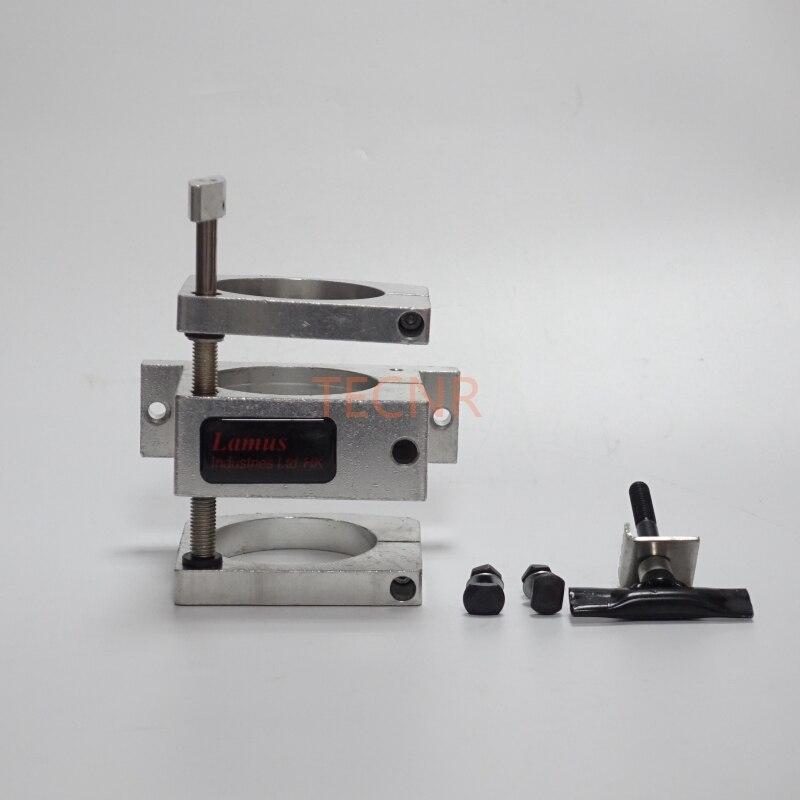 Soporte de abrazadera de motor de husillo ajustable 80MM para motor - Piezas para maquinas de carpinteria - foto 3