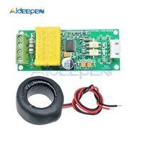 AC Digital Multifunções Watt Medidor de Energia Volts Amp Atual Módulo de Teste COM2 PZEM-004T Para Arduino TTL \ COM3 \ COM4 0-100A 80-260V