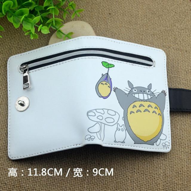 Q-style One Piece Dry Matter Cartoon Wallet Marvel Cute Pu Wallets Sword Art Online/Kantai Collection/Luffy Purse cion wallets Kids Wallets