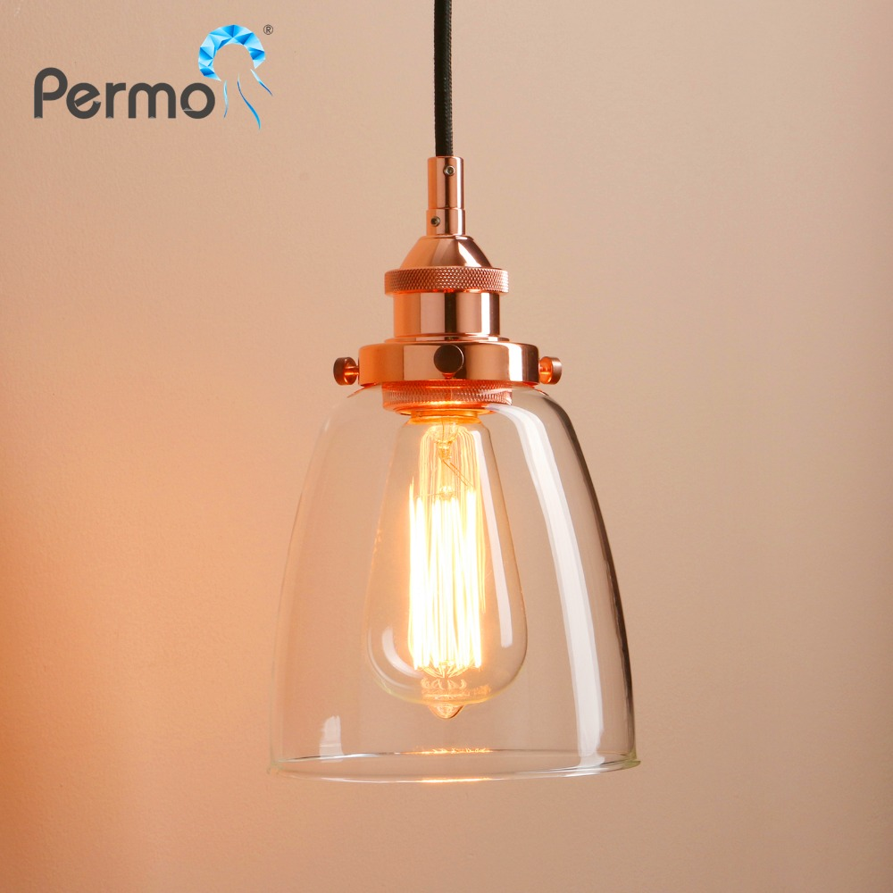PERMO 7.4 Retro Oval Pendant Lights Vintage Pendant Ceiling Lamps Modern Kitchen Hanglamp Luminaire Lights Fixture Home Bar