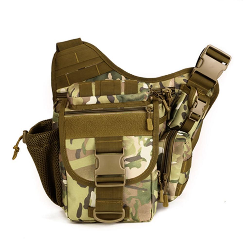 Μόδα άνδρες νάυλον ώμο Messenger Saddle τσάντα στρατιωτική ιππασία ιππασίας κάμερα μπουκάλι κάμερα διασταύρωση σώματος πακέτο Fanny πακέτο τσάντα