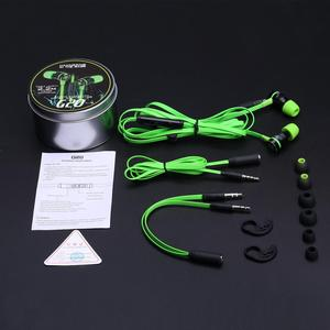Image 4 - سماعة أذن صغيرة G20 من Hammerhead سماعات داخل الأذن للعبة PUBG مزودة بميكروفون سلكي وعزل للضوضاء مغناطيسي ستيريو PK hammerh v2 pro