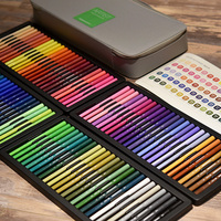 High end 100 Colors/set KACO GREEN ARTIST Watercolor Double Tip Pens Brush and Scriptliner Pen for Drawing Gift Set