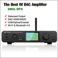 SMSL DP3 USB ЦАП Bluetooth усилитель аудио декодер ES9018Q2C Hifi Bluetooth ЦАП аудио усилитель балансный DSD цифровой плеер Amp