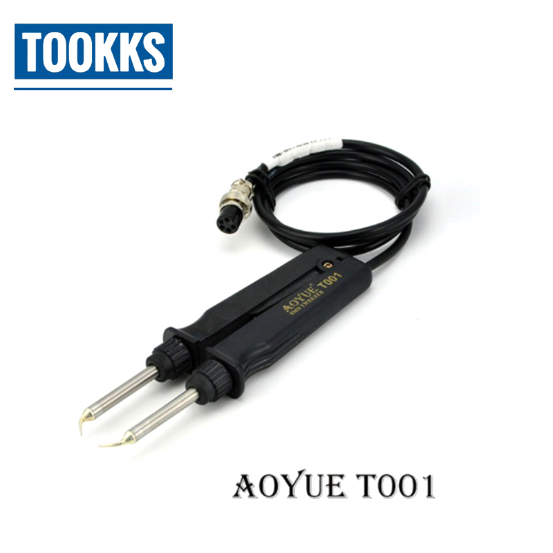 AOYUE T001 950 Electric Tweezers IC soldering station Hot Tweezer for BGA SMD Repair Solution Tool|Electric Soldering Irons| |  - title=