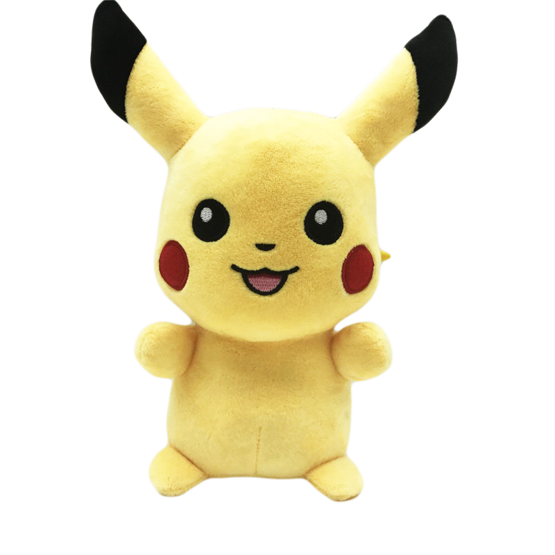12 Pieces 20 CM Super Cute Pikachu Plush Toys Three Emoji Stuffed Animals Toy Doll Charizard