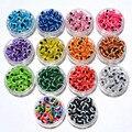 100 PCS 8mm Misto Colorido Beads Evil Eye Stripe Rodada Resina Contas Contas espaçador Jóias de Moda DIY Contas Para Fazer As Mulheres & Homens presentes